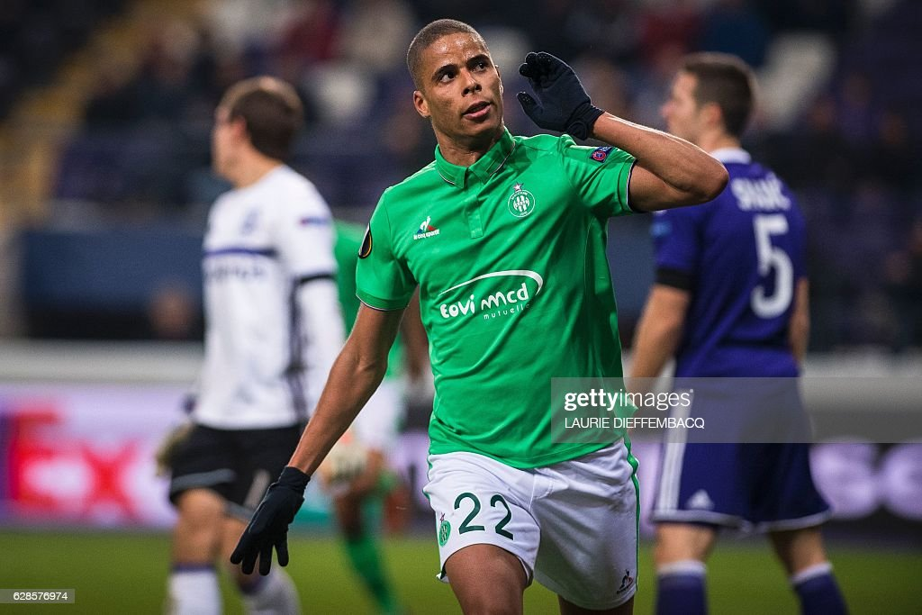 RSC Anderlecht v AS Saint-Etienne - UEFA Europa League
