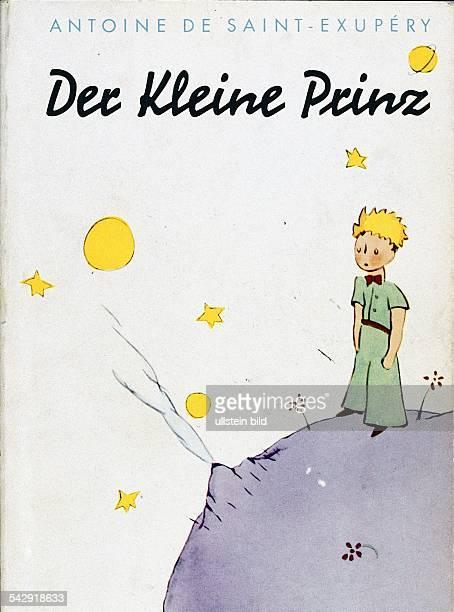 SaintExupery Antoine de* Writer pilot FranceBook cover of 'Der kleine Prinz' by Antoine de SaintExupery published in the Karl Rauch Verlag