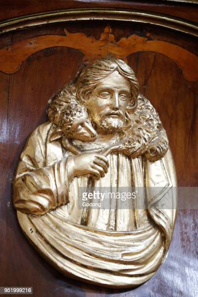 SaintGrat church Jesus the Good Shepherd Valgrisenche Italy