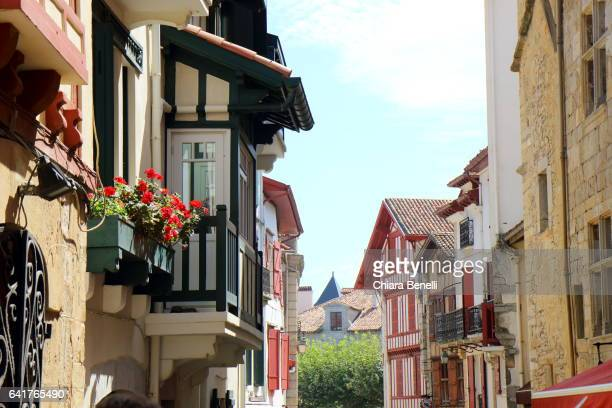 saint-jean-de-luz- france - casa stock-fotos und bilder