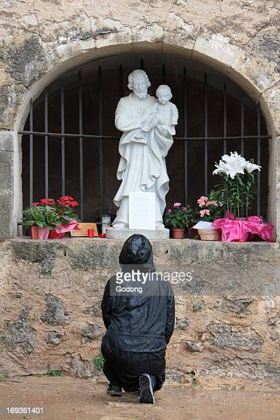 SaintJoseph du Bessillon monastery Place where St Joseph appeared to shepherd Gaspard Ricard