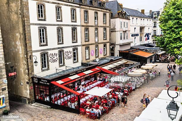 Saint-Malo city life, Brittany, France