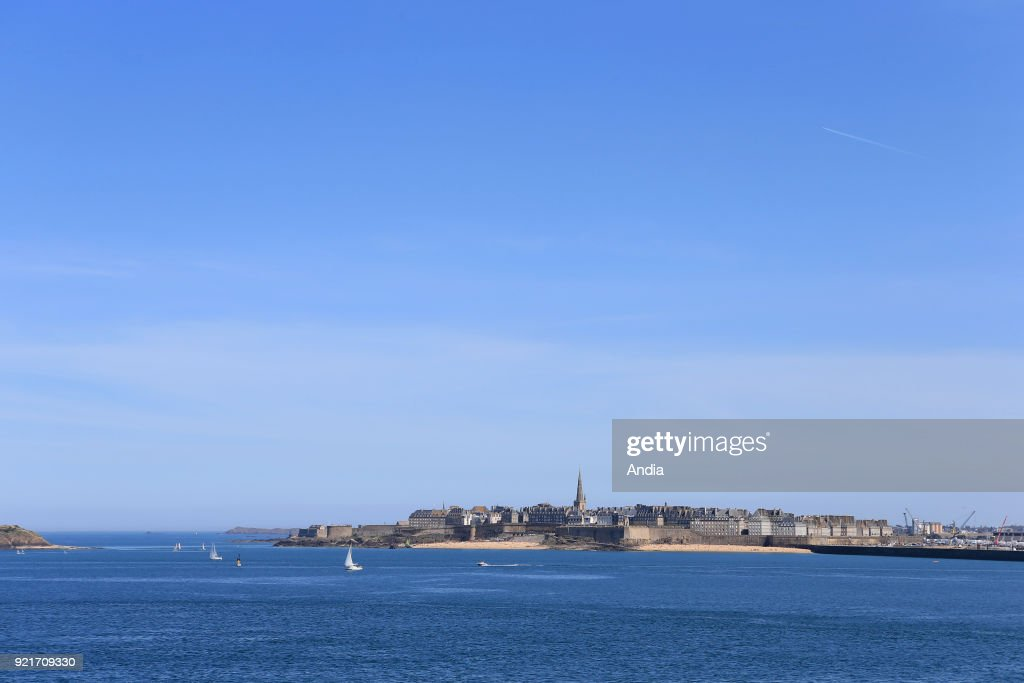 Saint-Malo. : News Photo