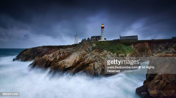 Saint-Mathieu lighthouse in Brittany