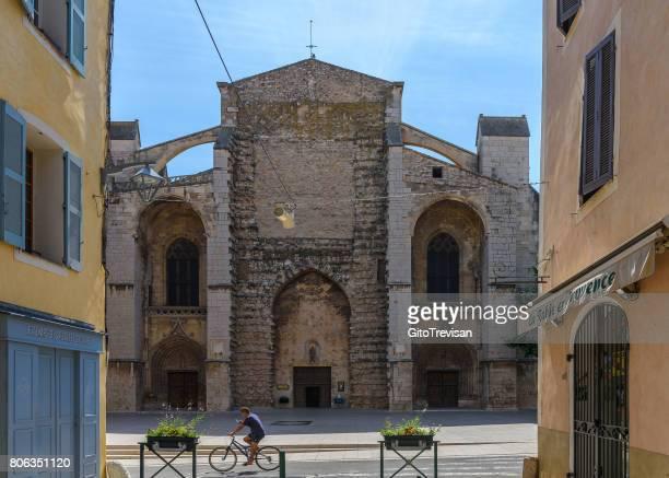 Saint-Maximin-La-sainte-Baume, Sainte-Marie-Madeleine,facade