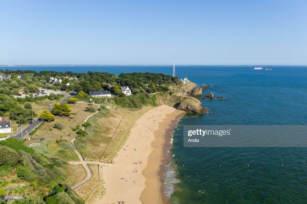 Beach of Les Jaunais. : News Photo