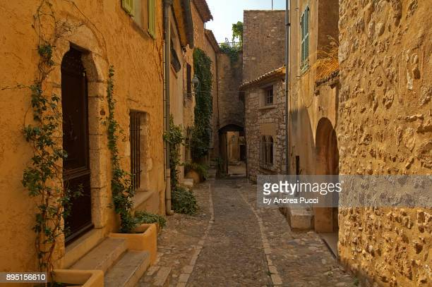 saint-paul-de-vence, provence-alpes-côte d'azur region, france - サンポールドヴァンス ストックフォトと画像