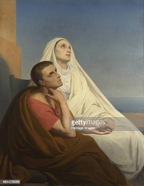 Saints Augustine and Monica 1854 Found in the collection of the National Gallery London