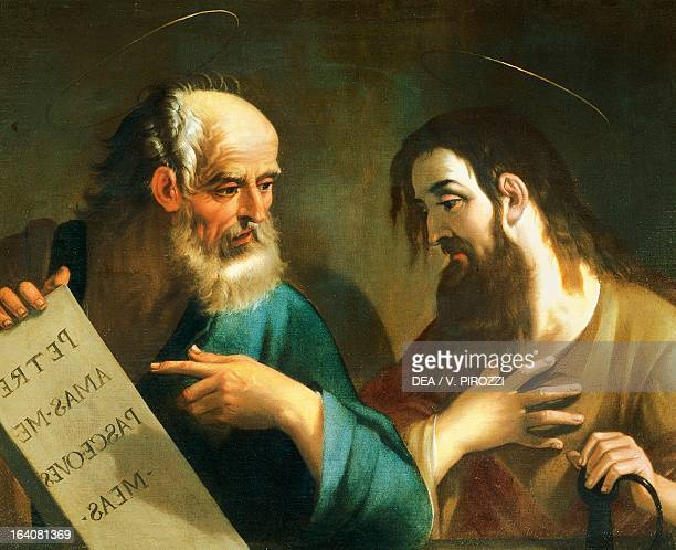 Saints Peter and Paul by Giovanni Baglioni painting Rome Galleria Spada