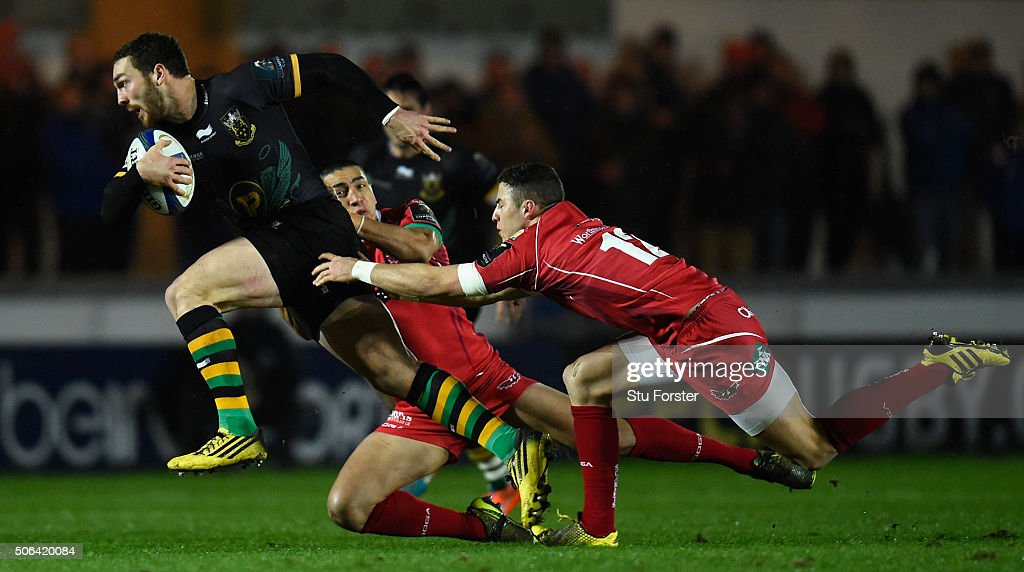 Scarlets v Northampton Saints - European Rugby Champions Cup