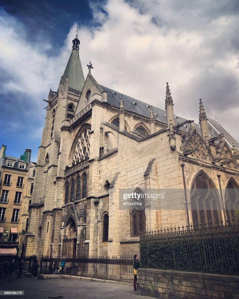 Saint-Severin Church in Paris, France : Stock Photo