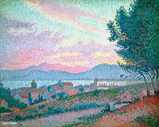 SaintTropez Pinewood 1896 by Paul Signac 5x81 cms Musee de l'Annonciade SaintTropez France