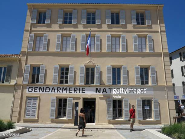 the famous police station in Place Blanqui where 'Le gendarme de Saint Tropez' featuring Louis de Funes was filmed now housing the Museum of Police...