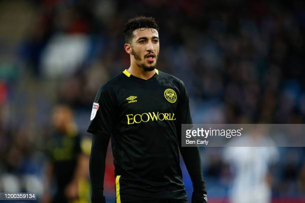 Saio Benrahma of Brentford during the Sky Bet Championship match between Huddersfield Town and Brentford at John Smith's Stadium on January 18 2020...