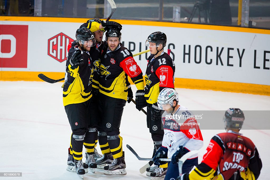SaiPa Lappeenranta v Eisbaren Berlin - Champions Hockey League : News Photo