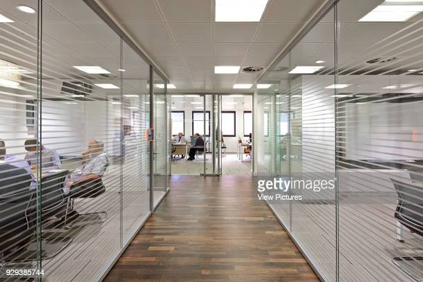 Saipem Headquarters KingstonuponThames KingstonuponThames United Kingdom Architect John Roberston Architects 2013 Glass partitioning and circulation...