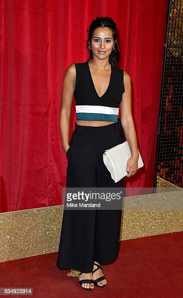 Sair Khan attends the British Soap Awards 2016 at Hackney Empire on May 28 2016 in London England
