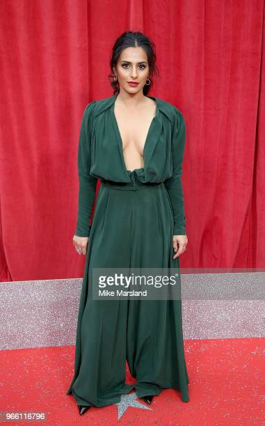 Sair Khan attends the British Soap Awards 2018 at Hackney Empire on June 2 2018 in London England