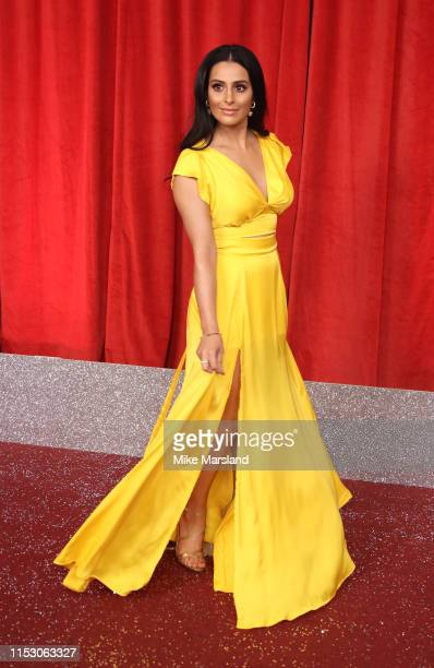 Sair Khan attends the British Soap Awards at The Lowry Theatre on June 01 2019 in Manchester England
