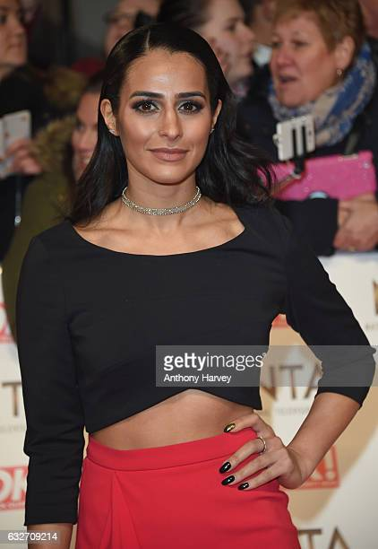 Sair Khan attends the National Television Awards on January 25 2017 in London United Kingdom