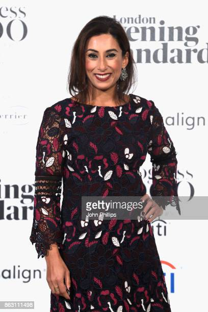 Saira Khan attends London Evening Standard's Progress 1000 London's Most Influential People event at on October 19 2017 in London England