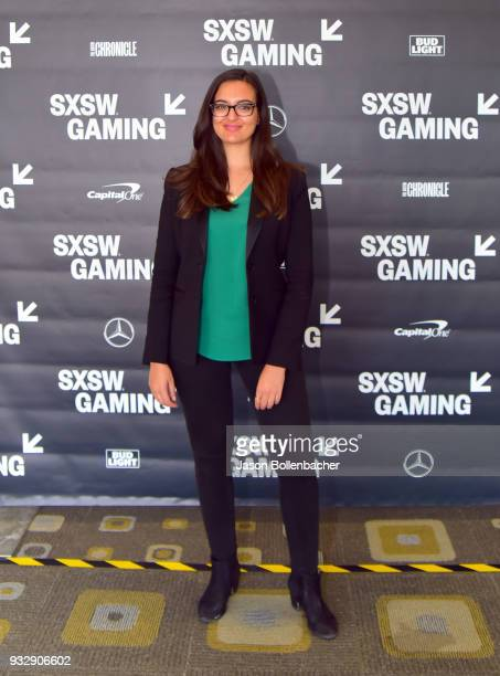 Saira Mueller attends Hoops and Gaming Why the NBA Started an Esports League during SXSW at Austin Convention Center on March 16 2018 in Austin Texas