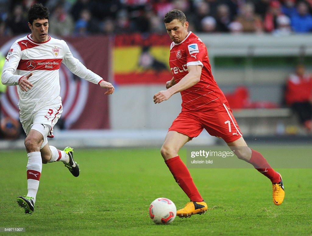 Bundesliga, 20. Spieltag, Fortuna Düsseldorf - VfB Stuttgart : News Photo