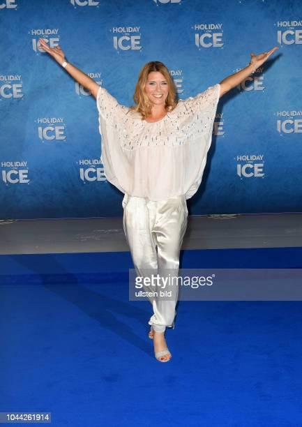 Saisoneröffnung Red Carpet 12 Oktober 2017 Volksbank Arena Tanja Szewczenko Schauspielerin Eiskunstläuferin