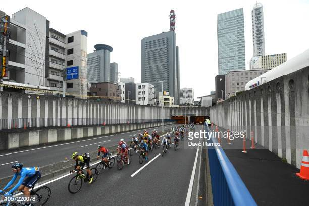 Saitama City / Landscape / Peloton / during the 6th Tour de France Saitama Criterium 2018 a 589km race from Saitama to Saitama / TDF / on November 4...