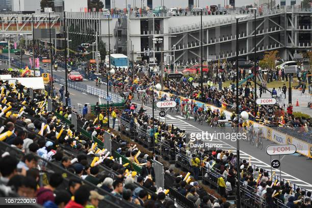 Saitama City / Landscape / Peloton / Fans / Public / during the 6th Tour de France Saitama Criterium 2018 a 589km race from Saitama to Saitama / TDF...