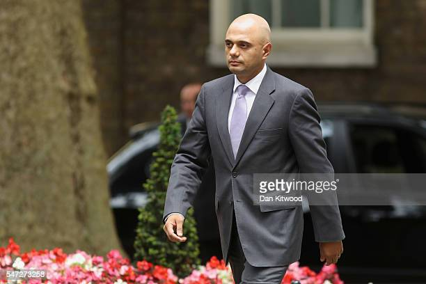 Sajid Javid arrives at 10 Downing Street where he was appointed as Communities Secretary as Prime Minister Theresa May continues to appoint her...