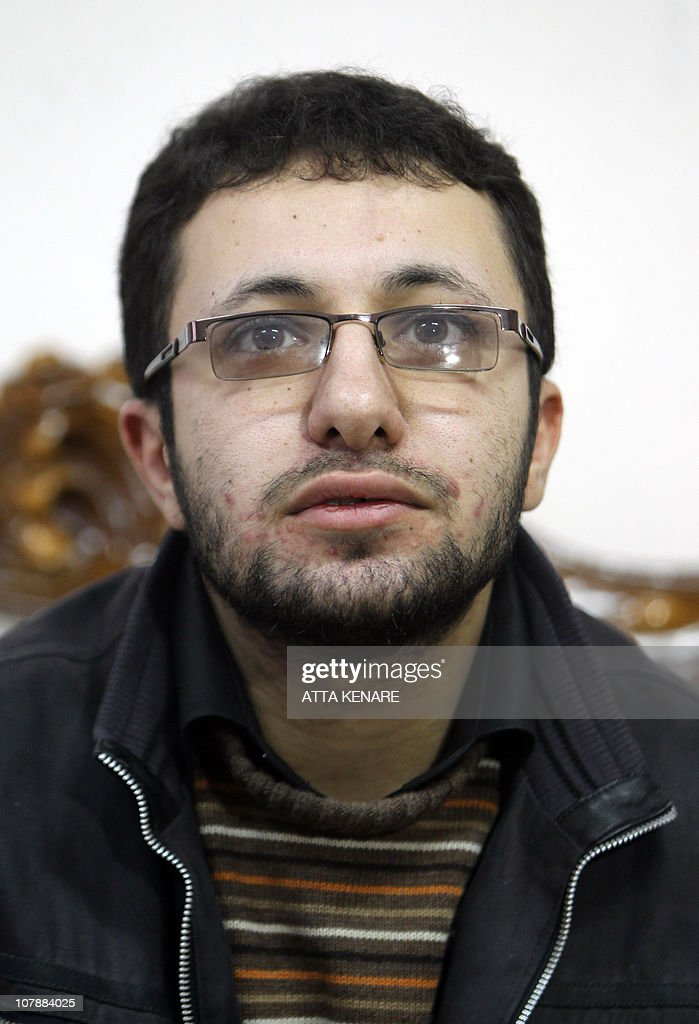 Sajjad Qaderzadeh, son of Iranian 43-year-old Iranian Sakineh Mohammadi-Ashtiani who has been sentenced to death by stoning for adultery, says during an interview with a group of journalists from international news networks in Iran's northwestern city of Tabriz on January 1, 2011 that his mother was guilty of murdering his father and that he made her case controversial to save her. Qaderzadeh was released on bail on December 12, 2010 and his meeting with the foreign media was arranged by the provincial justice department at a guesthouse belonging to a government welfare organisation.