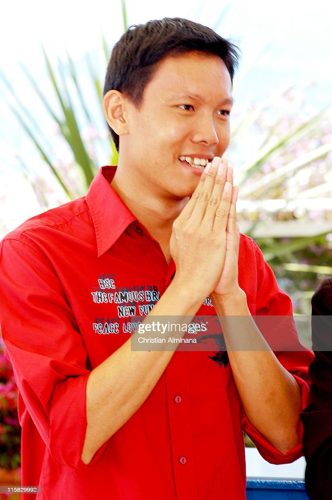 Sakada Kaewbuadee during 2004 Cannes Film Festival - 'Tropical Malady' - Photocall at Palais Du Festival in Cannes, France.