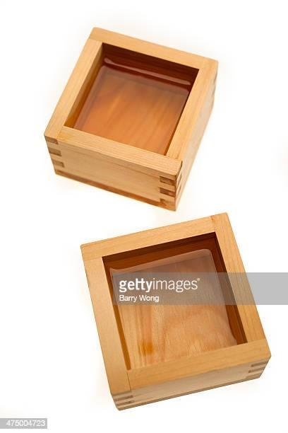 sake boxes