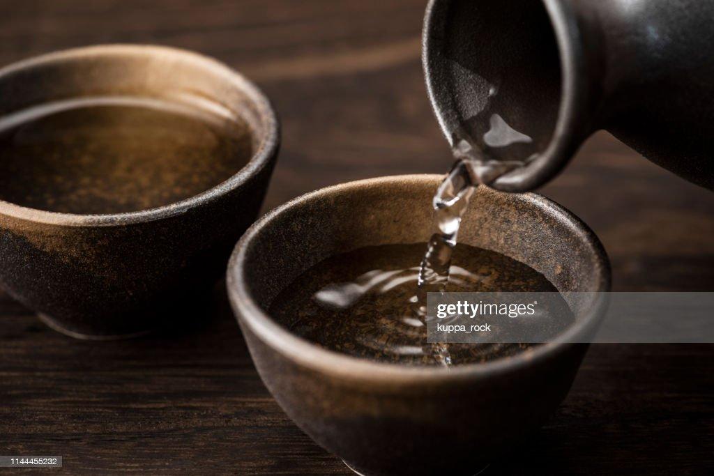 Sake : Stock Photo