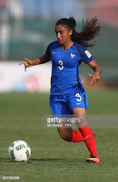 Sakina Karchaoui of France during the FIFA U20 Women's World Cup Group C match between New Zealand and France at Bava Park on November 21 2016 in...