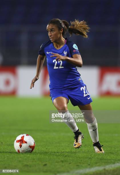 Sakina Karchaoui of France during the UEFA Women's Euro 2017 Group C match between Switzerland and France at Rat Verlegh Stadion on July 26 2017 in...