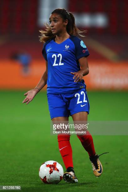 Sakina Karchaoui of France in action during the Group C match between France and Austria during the UEFA Women's Euro 2017 at Stadion Galgenwaard on...