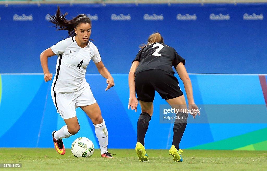 New Zealand v France: Women's Football - Olympics: Day 4