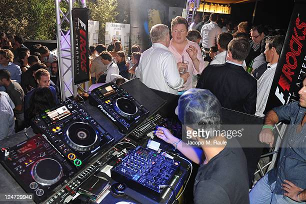Sakon Yamamoto attends F1 Rocks The After Party at Just Cavalli on September 11 2011 in Milan Italy