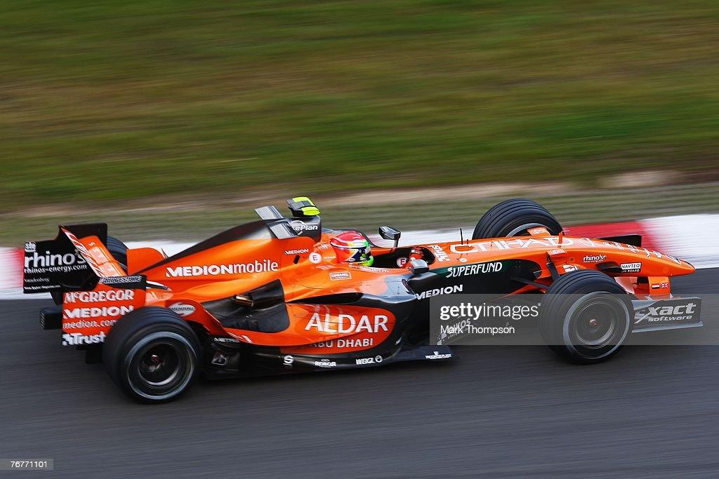 Belgian Formula One Grand Prix: Qualifying : News Photo