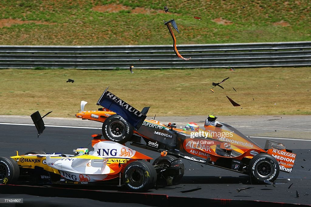 Brazilian Formula One Grand Prix: Race : Nachrichtenfoto