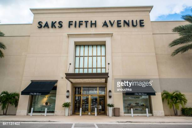 Saks Fifth Avenue Department Store in Boca Raton, USA