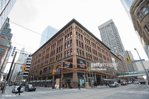 Saks Fifth Avenue is poised to open in Toronto as the company takes over the former Hudson Bay Company flagship store at Queen Street and Yonge...