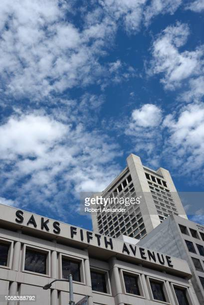 Saks Fifth Avenue store in Union Square San Francisco California