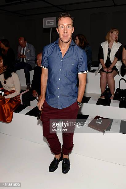 Saks Fifth Avenue Vice President Eric Jennings attends the Porsche Design Spring/Summer 2015 fashion show during MercedesBenz Fashion Week Spring...
