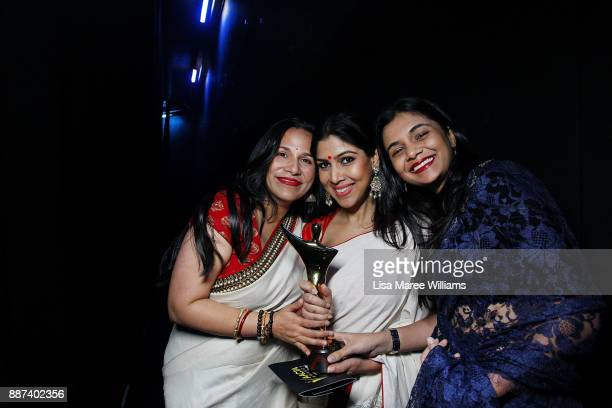 Sakshi Tanwar accepts the AACTA Award on behalf of Dangal for Best Asian Film Presented By PR Asia during the 7th AACTA Awards Presented by Foxtel at...