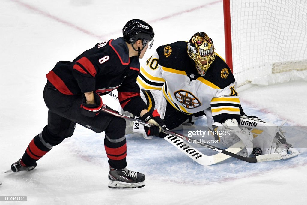 Boston Bruins v Carolina Hurricanes - Game Three : News Photo