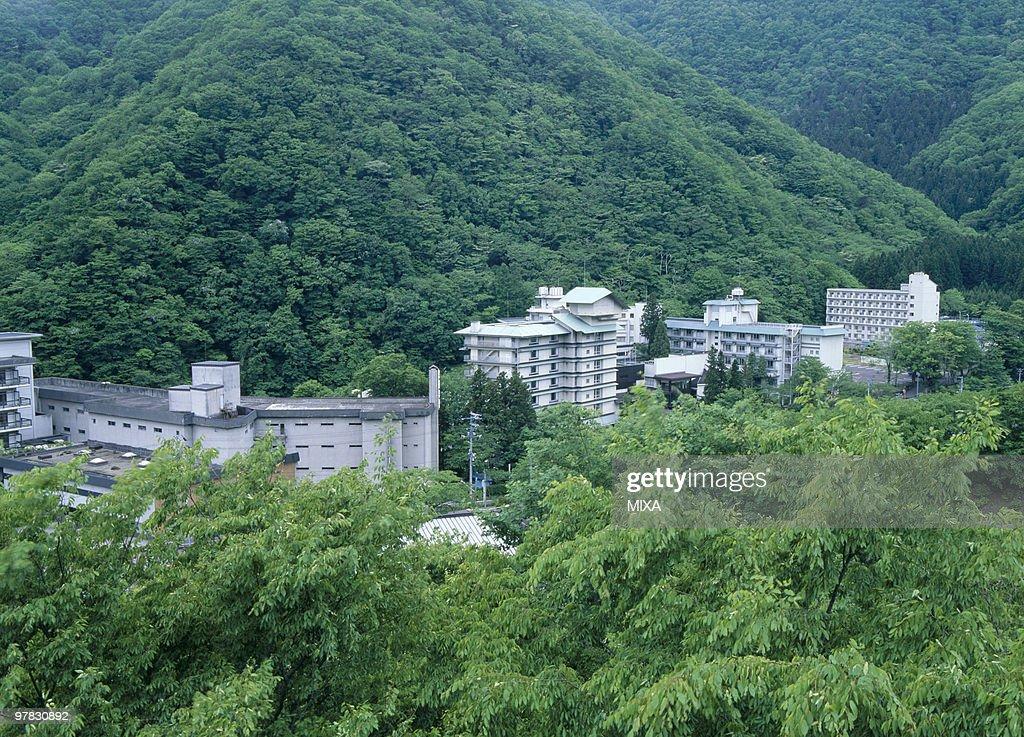 Sakunami Onsen, Sendai, Miyagi, Japan : Stock Photo