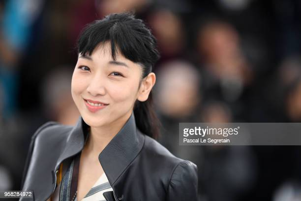 Sakura Ando attends the photocall for Shoplifters during the 71st annual Cannes Film Festival at Palais des Festivals on May 14 2018 in Cannes France